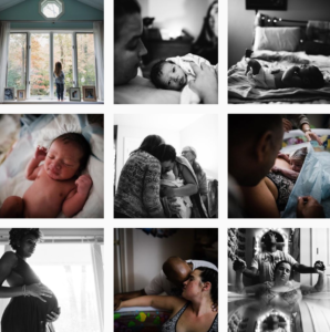 birth photography Instagram feeds - angieklausphoto