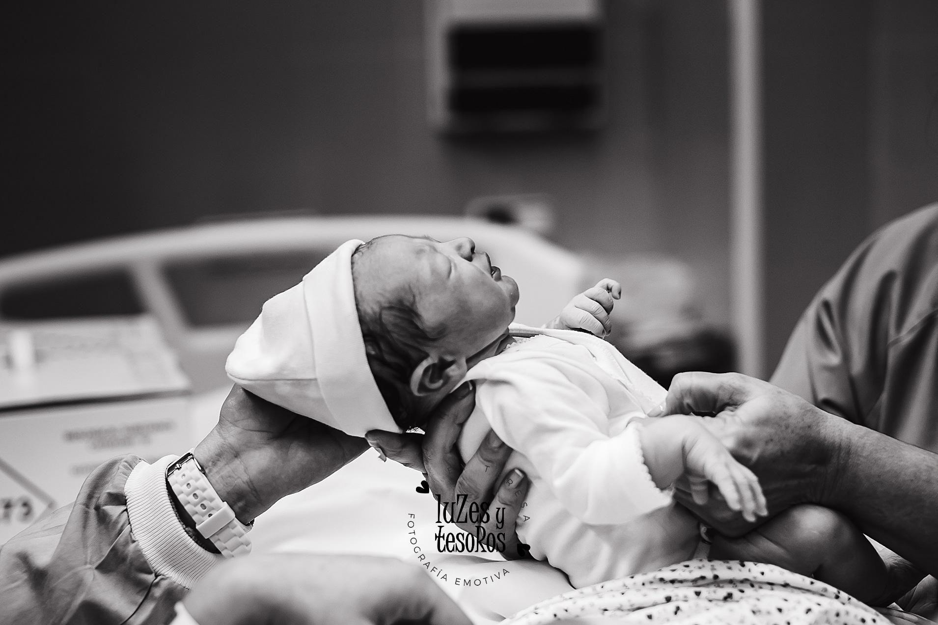 reportaje de nacimiento en hospital valencia