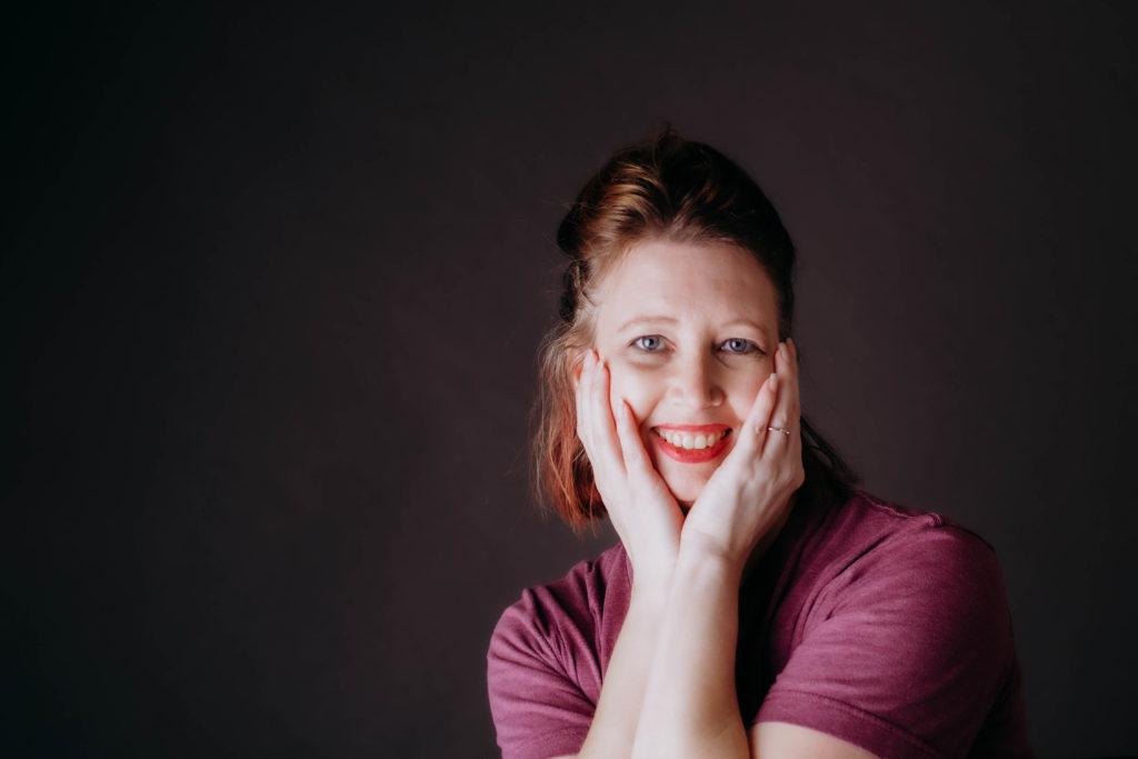 Crystal McClurg Birth Photographer Self Portrait 2020 Project