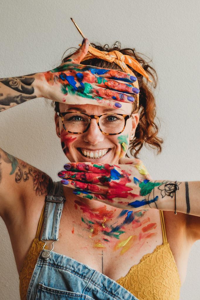 Jessica Vink Self Portrait Project 2020 for BirthPhotographers.com